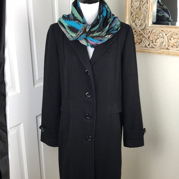 a829a3438b9 Wool Vintage Dress Coat by Giacca by Gallery Midi.  M 5a38a2ac9a94559e57015424